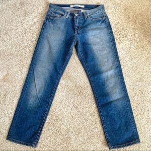 Gap Women Sz 6R STRETCH Pencil Cut Jeans